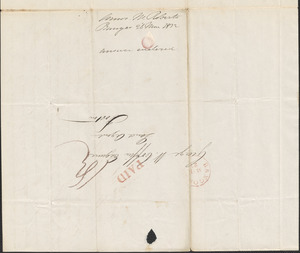 A.M. Roberts to George Coffin, 26 March 1832