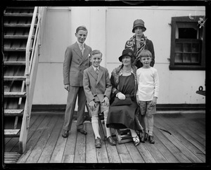 Lady Astor and family