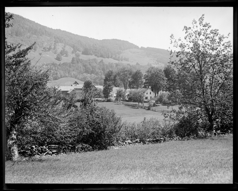 Coolidge's homestead in Plymouth, VT