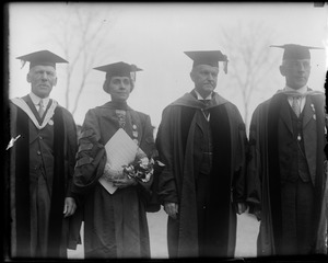 Pres. and Mrs. Coolidge at Andover