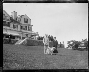 President and Mrs. Coolidge in Swampscott