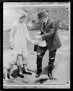 Pres. Coolidge and Mrs. Coolidge - draw no. 41