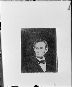 Abe Lincoln from tintype