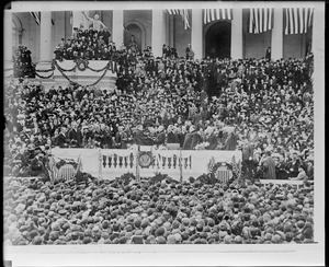 Inauguration of President Wilson