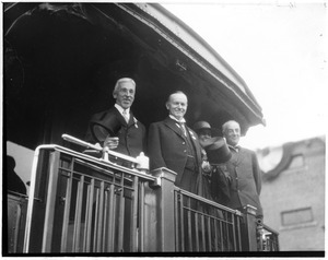 Pres. Wilson and Gov. Coolidge - South Station