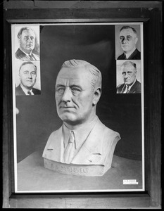 Bust of F.D.R.