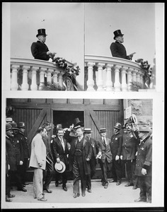 Pres. Wilson and Roosevelt