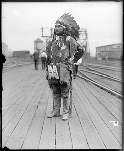 Indian Chief of Wild West show