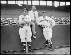 Cronin, Collins and Foxx at Fenway