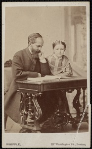 Dr. George Faulkner and his daughter Mary