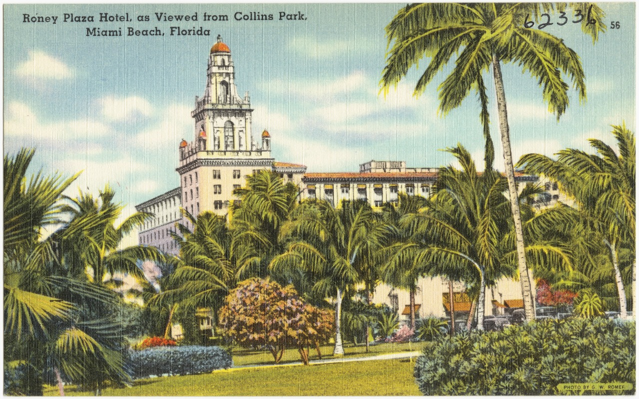 Roney Plaza Hotel As Viewed From