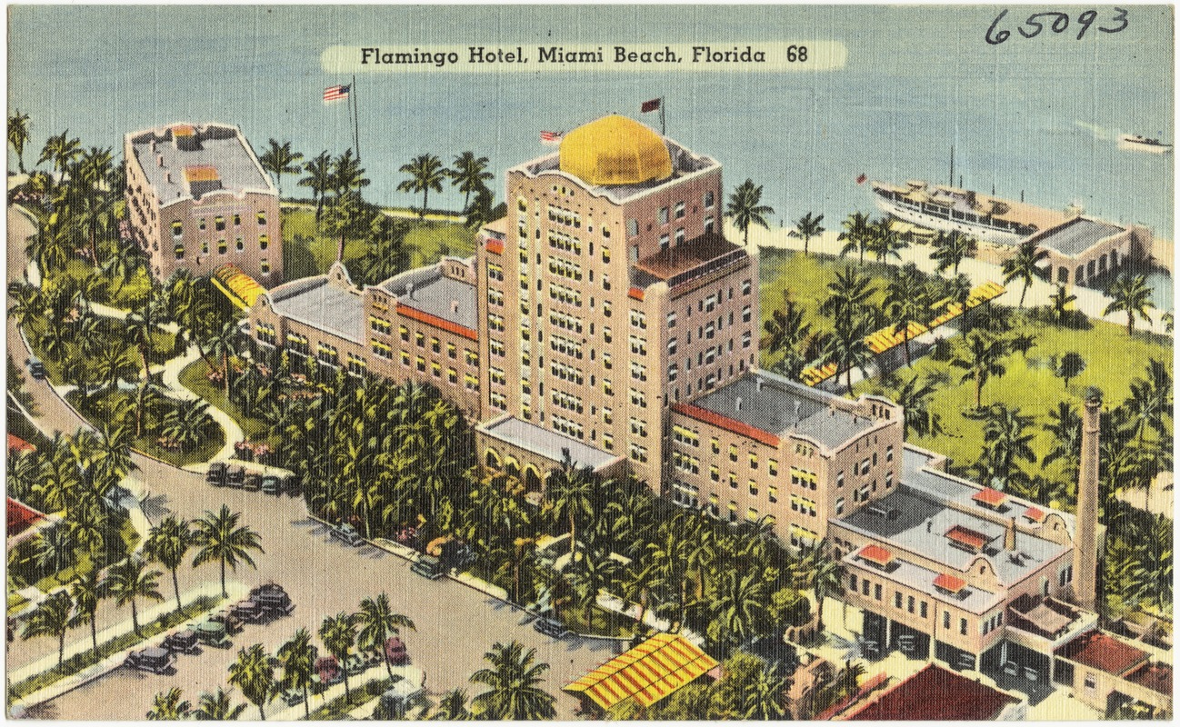 Flamingo Hotel Miami Beach Florida