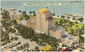 Flamingo Hotel, Miami Beach, Florida
