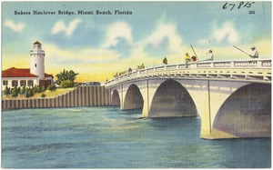 Bakers Haulover Bridge, Miami Beach, Florida
