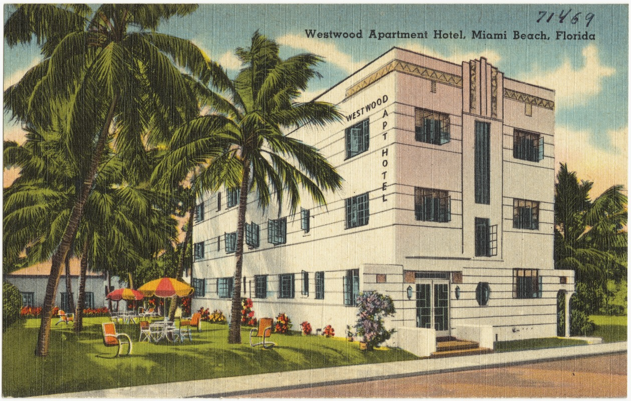 Westwood Apartment Hotel Miami Beach Florida