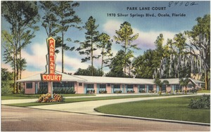 Park Lane Court, 1970 Silver Springs Blvd., Ocala, Florida