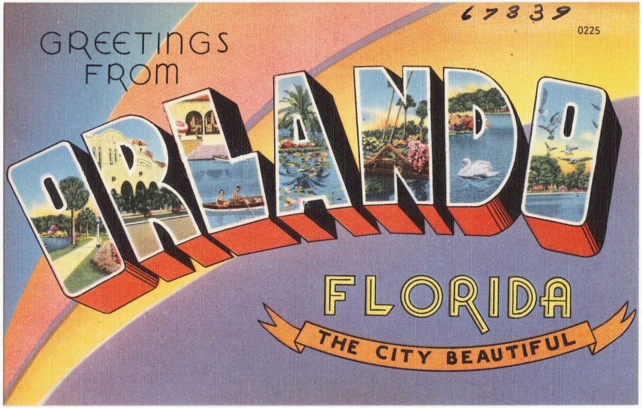 Greetings from orlando florida the city beautiful digital greetings from orlando florida the city beautiful kristyandbryce Image collections