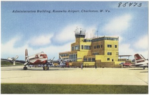 Administration building, Kanawha Airport, Charleston, W. Va.