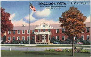 Administration building, Baker Veterans Administration Center, Martinsburg, W. Va.