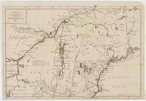 A Map of that part of America which was the principal seat of war in 1756