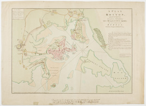 A Plan of Boston, and its environs.