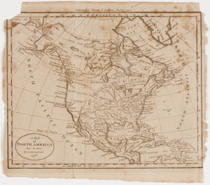 A Map of North America from the latest discoveries 1798