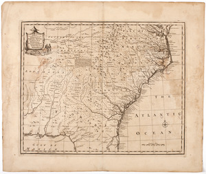 A new & accurate map of the provinces of North & South Carolina Georgia &c