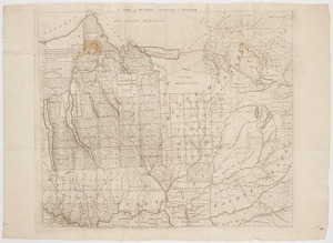 1st. sheet of De Witt's state-map of New York