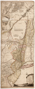 The provinces of New York, and New Jersey,