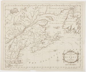 A new and accurate map of Quebec and its boundaries: from a late survey