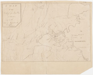 A Map of the seat of the late war at Boston in the state of Massachusetts