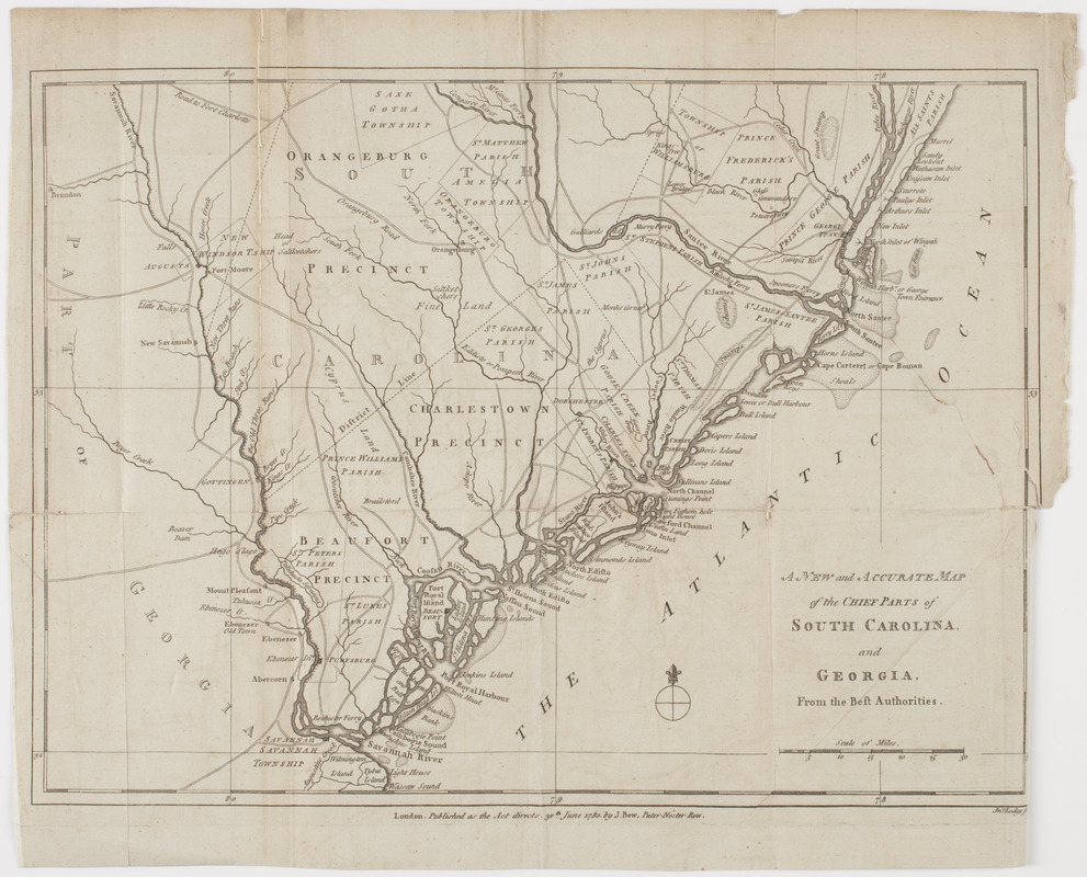 A New and accurate map of the chief parts of South Carolina ... Georgia South Carolina Map on lexington georgia map, satilla river georgia map, scottsdale georgia map, abbeville georgia map, bibb county georgia map, antebellum georgia map, show counties in georgia map, ogeechee river georgia map, asheville georgia map, united states map, dover georgia map, ga rome georgia map, surrency georgia map, florida georgia map, lakemont georgia map, irwinton georgia map, northwestern georgia map, goose creek georgia map, north carolina map, evans county georgia map,