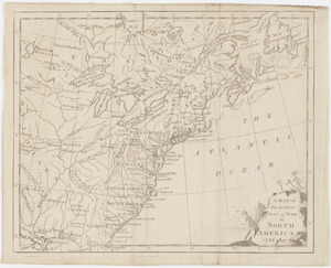 A Map of the present seat of war in North America
