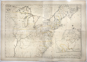 The United States according to the definitive treaty of peace signed at Paris, Septr. 3d, 1783