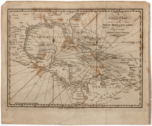 A Correct chart of the West India islands