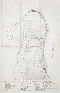 Plan of the Battle fought on the Plains of Abraham, September the 13th 1759