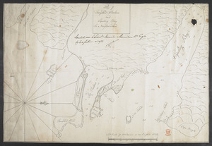 Plan of Ferryland Harbour and Capeling Bay In Newfoundland