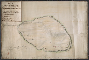PLAN of BUOY ISLAND NEW FOUND-LAND