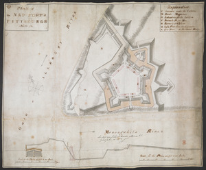 PLAN of the NEW FORT at PITTSBURGH November 1759