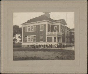 Center School, with children