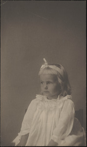 Eleanor Heard Russell at age 7