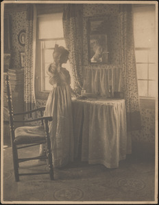 Eleanor Russell at Col. David Heard's house