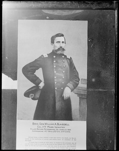 Portrait of Gen. William A. Blaisdell, Civil War