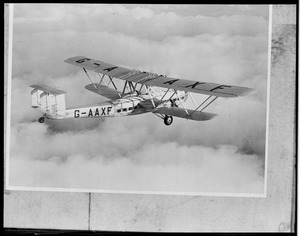 Plane in the clouds, Imperial Airways