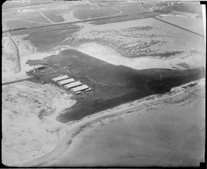 East Boston Airport, aerial view