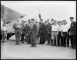 Wiley Post and Harold Gatty