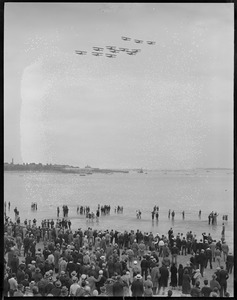 Army air meet at Carson Beach, Columbus Park in South Boston