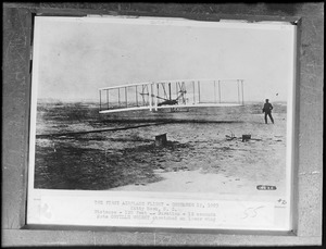 The first airplane flight