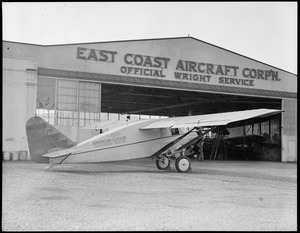 East Coast Aircraft Corp'n. Official Wright service