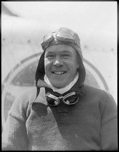 Richard E. Cobb who carries the honor in speed from Boston to Washington D.C.